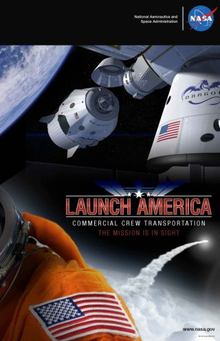 NASA 'Launch America' Promotional Image