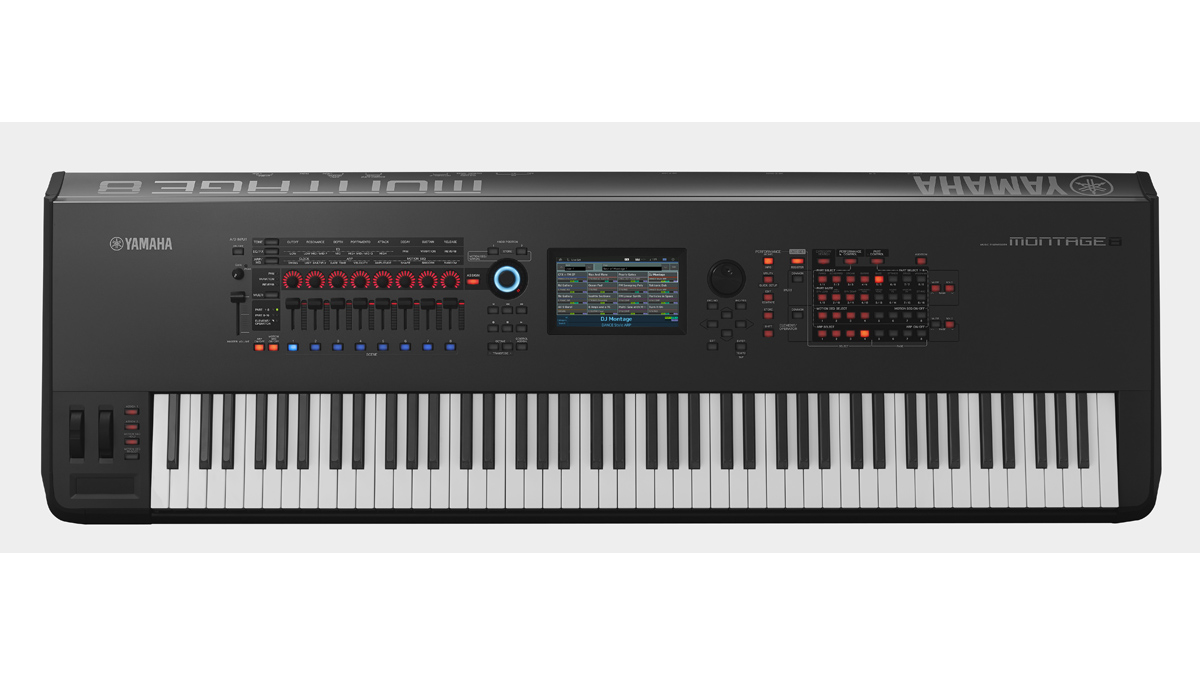 NAMM 2016 VIDEO: Yamaha's Montage offers FM-X and AWM2 synth engines