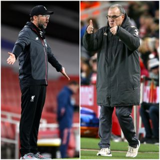 Jurgen Klopp and Marcelo Bielsa