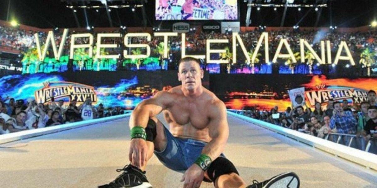 John Cena at WrestleMania 28