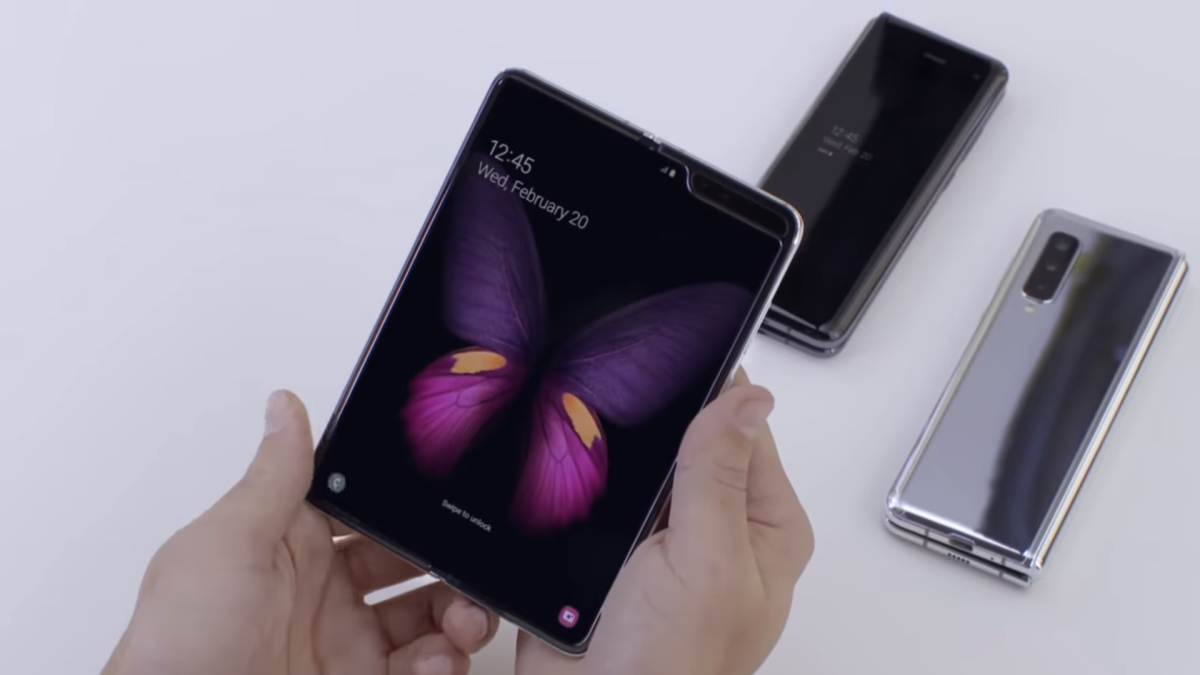samsung folding phone techradar