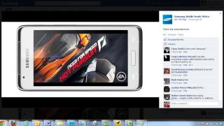 Samsung Mobile leaks new Galaxy handset on Facebook