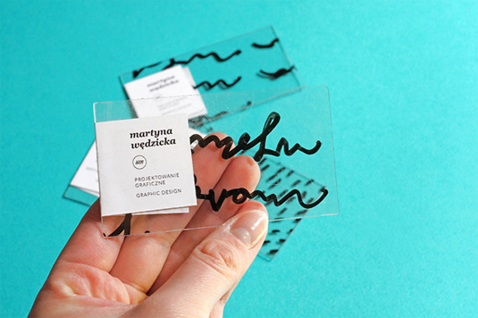 Business cards Martyna Wedzicka