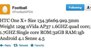 HTC One X+ leaked specs
