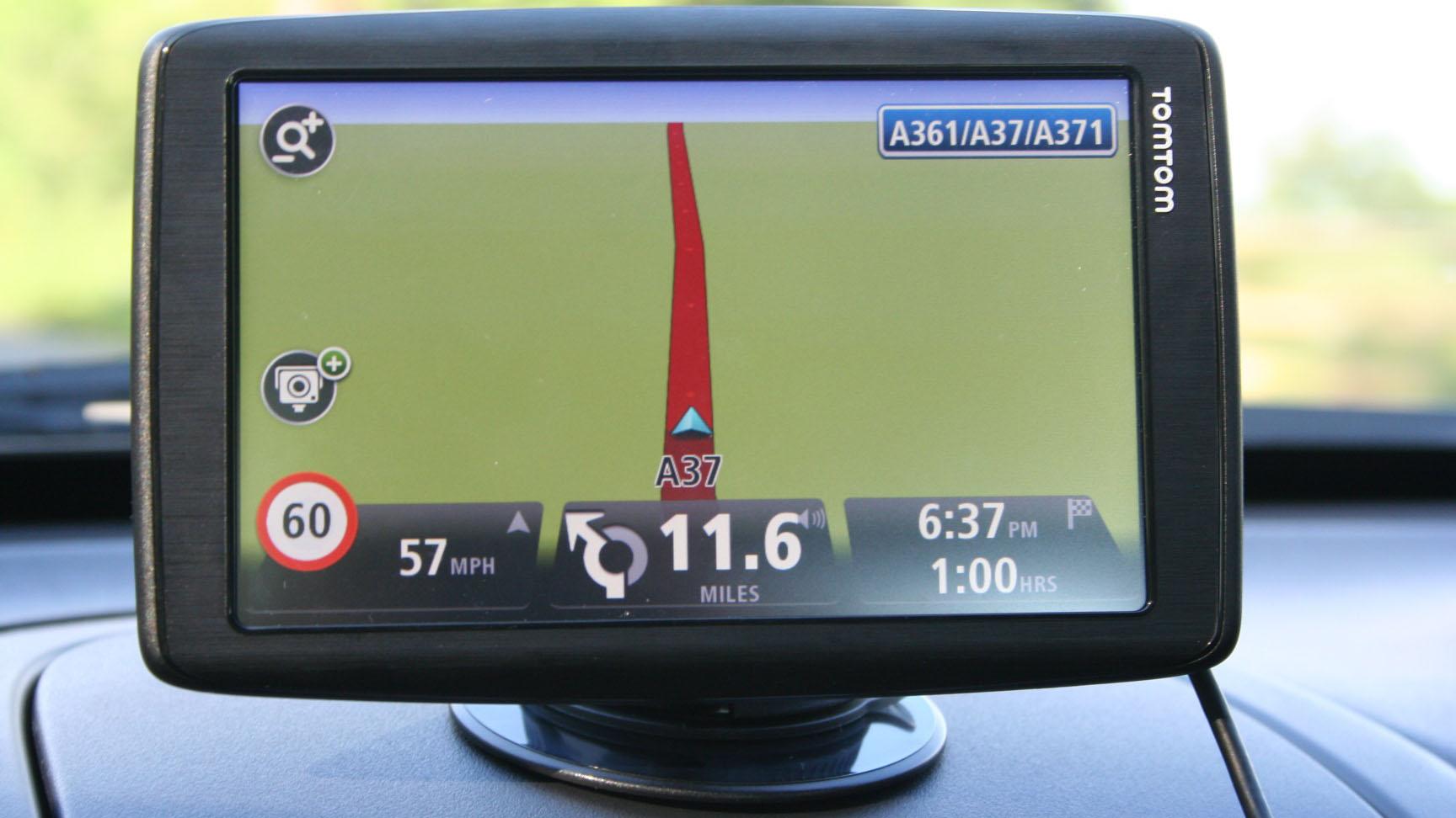 TomTom sat navs now reward you for good driving   TechRadar