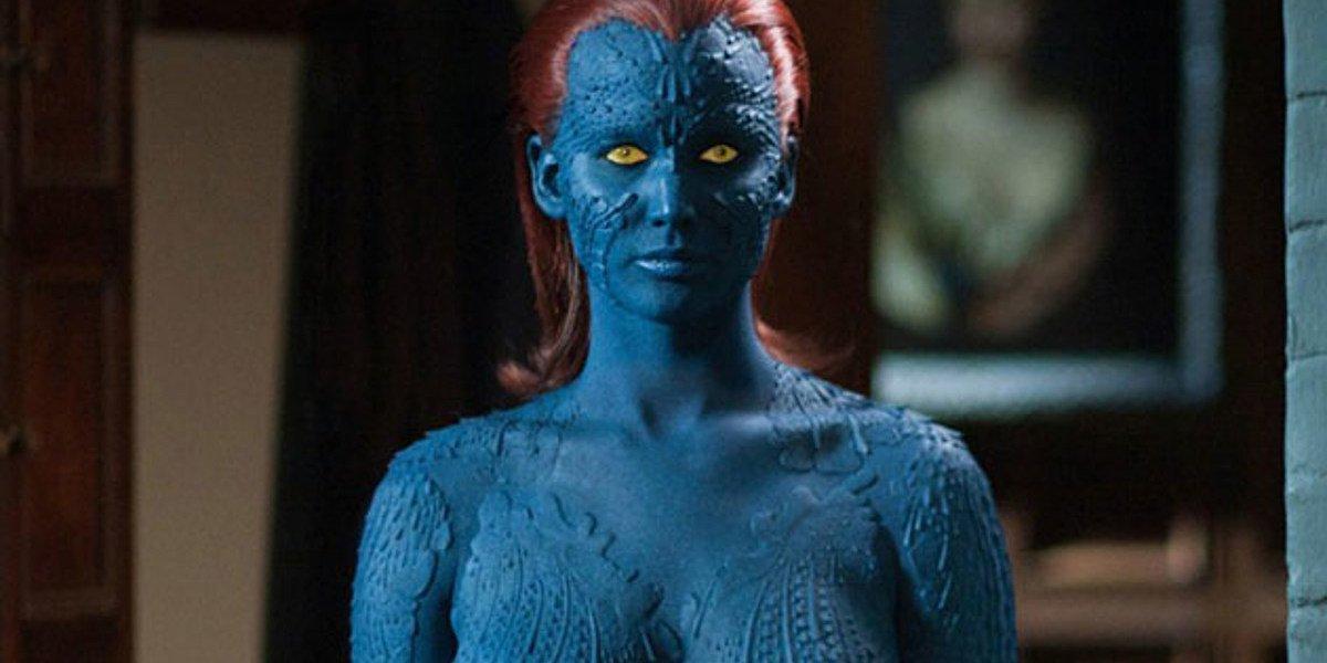 Jennifer Lawrence as Mystique in X-Men series