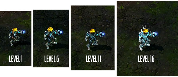 Pulsefire Ezreal Skin For League Of Legends Changes As You Level Is