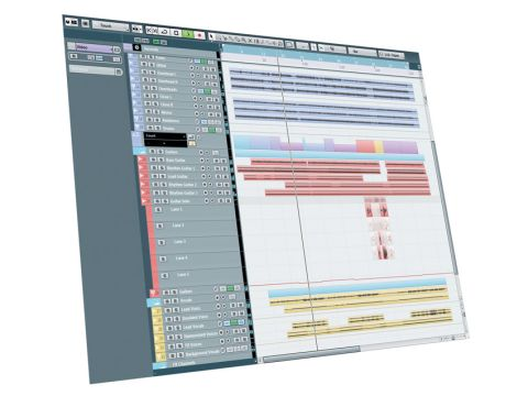 The graphical updates to the interface are the first obvious update for Cubase 6.