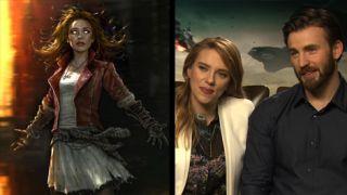 Avengers Age Of Ultron Scarlett Johansson Chris Evans And Samuel L Jackson Speak Gamesradar