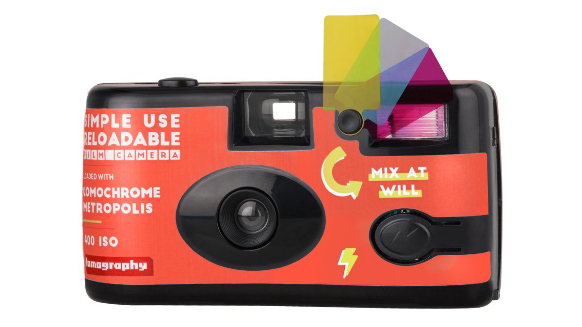 Get your grunge on with Lomography's latest reloadable disposable camera