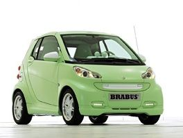 The Smart BRABUS gets an airing in the UK