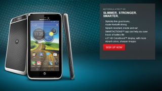 The slim Atrix HD arrives exclusively through AT&T