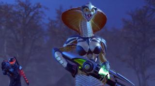 XCOM 2 snake viper alien