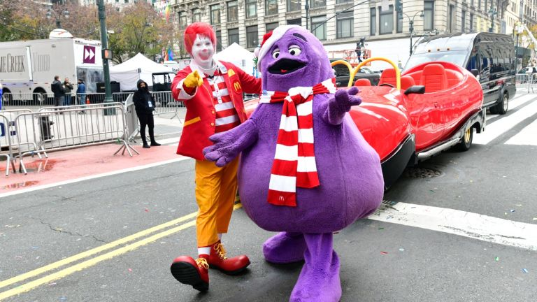 Grimace, McDonald's character's identity at last revealed