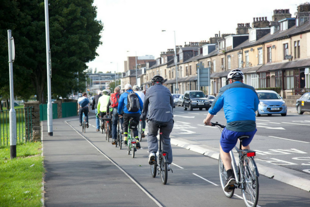 The Leeds-Bradford Cycle Superhighway has come in for criticism since it opened in June