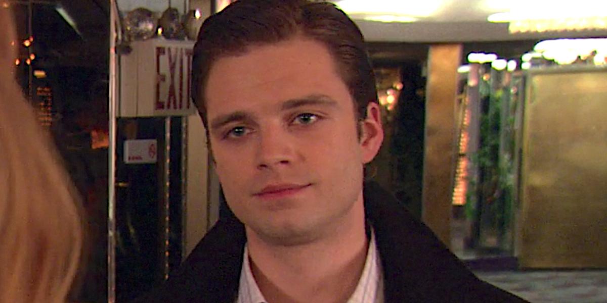 Sebastien Stan looks nonplussed as Carter Baizen on Gossip Girl