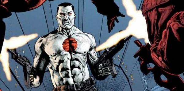 Bloodshot comic book panel