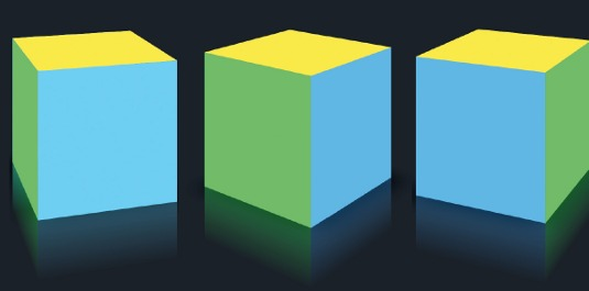 How to create impressive 3D graphics in CSS3   OneClick