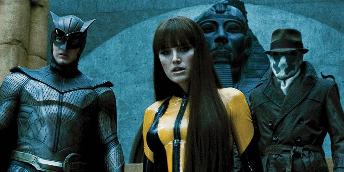 The cast of Watchmen, another Zack Snyder film.