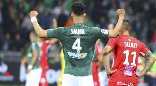 William Saliba Saint Etienne Arsenal Tottenham Hotspur