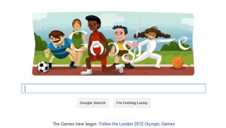 London 2012 gets its own Olympic Google Doodle