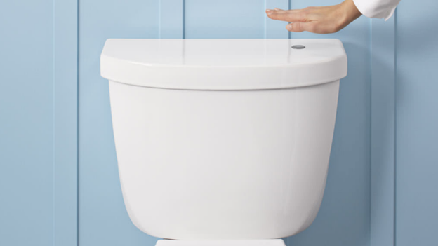 Miraculous Kohler Touchless Toilet Lets You Wave To Flush T3 Bralicious Painted Fabric Chair Ideas Braliciousco