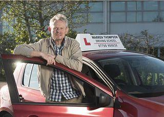 Martin Clunes in his new BBC1 comedy Warren