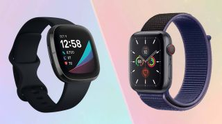 Fitbit Sense vs. Apple Watch 5