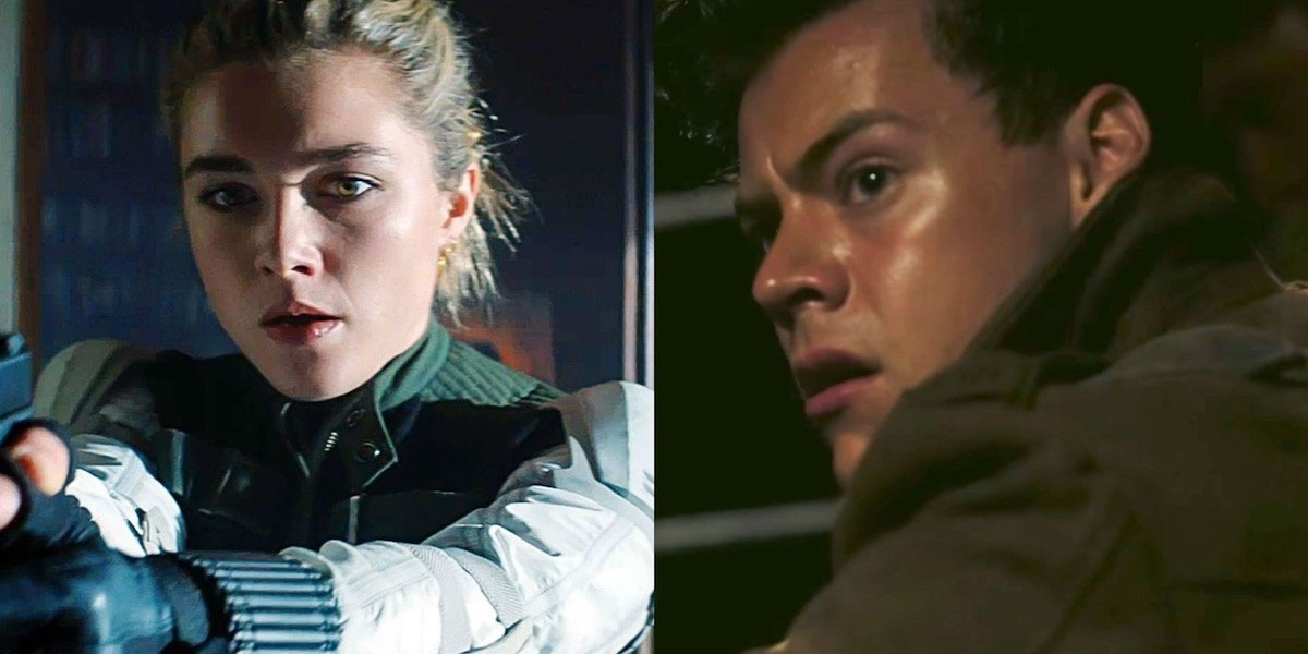 Florence Pugh And Harry Styles Make Out In Olivia Wilde's First Don't Worry Darling Footage