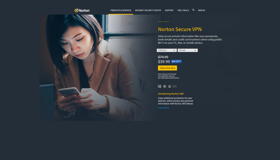 Norton Secure VPN Plans and Pricing