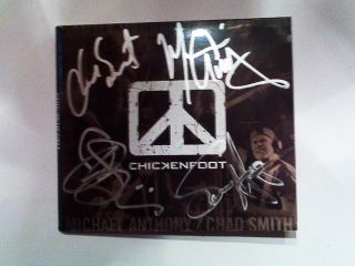 Chickenfoot got out their Sharpies for MusicRadar readers