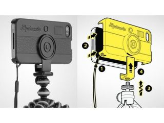 The new HipstaCase is sure to appeal to retro-camera app fans with iPhone 4s