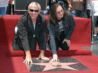 Lifeson and Lee enjoy the limelight