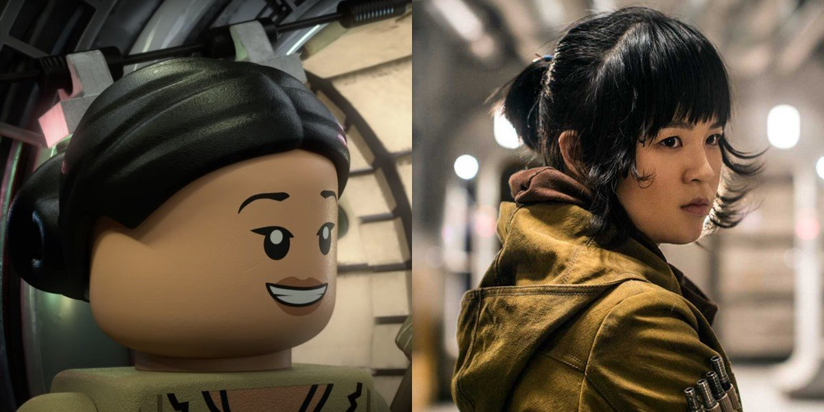 Rose in LEGO Star Wars Holiday Special; Kelly Marie Tran in Star Wars: The Last Jedi