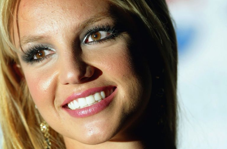 Britney Spears arrives at the 'blue carpet' launch of Pepsi's new TV commecial at the National Gallery on January 26, 2004 in London, Britney Spears conservatorship