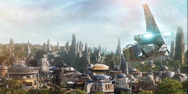 Concept art of Batuu, the home of Star Wars Galaxy's Edge