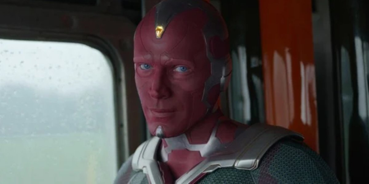 Paul Bettany as Vision on WandaVision