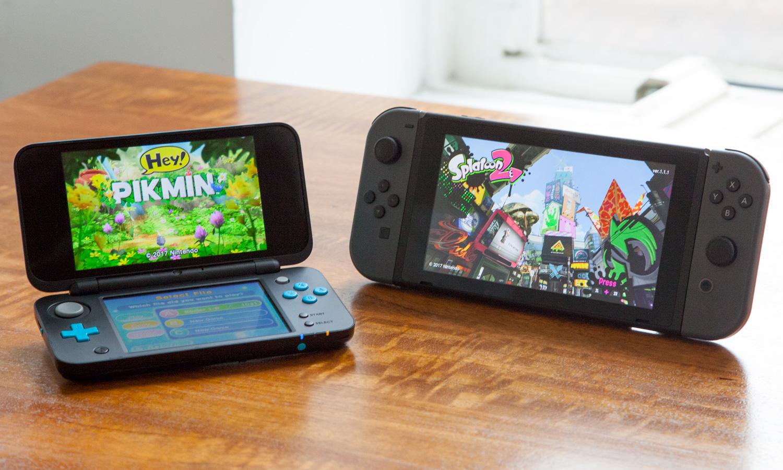 Kết quả hình ảnh cho Nintendo 3ds and Nintendo Switch