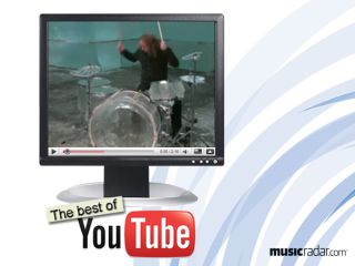 Drums made of ice? Cool (sorry!).