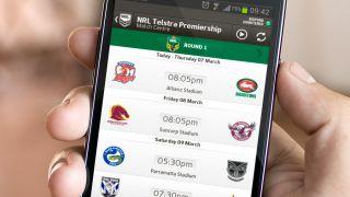 Telstra's NRL Live app
