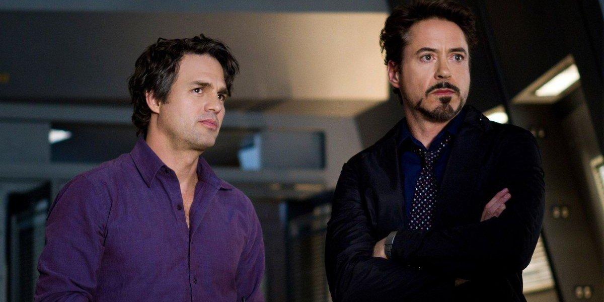 Mark Ruffalo, Robert Downey Jr. - The Avengers (2012)