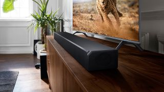 soundbar Prime Day deals TV pictured