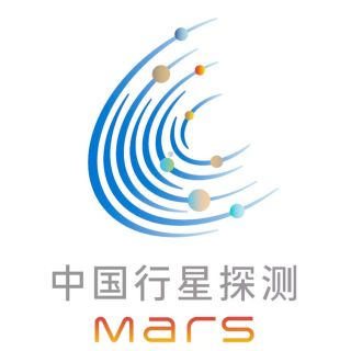 "The logo for the China National Space Administration's Tianwen-1 Mars mission features a stylized ""C"" for China."