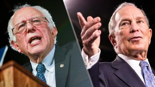 here's how to watch the nevada democratic debate - Bernie's definitely to the left of Bloomberg