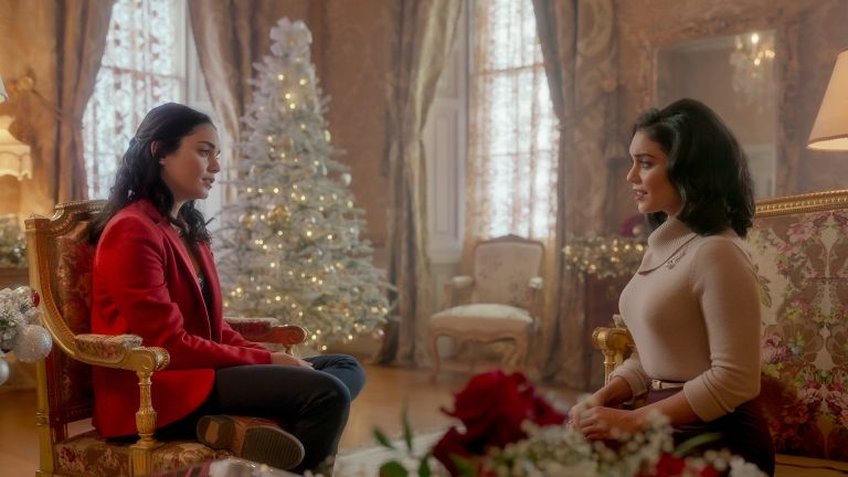Vanessa Hudgens as Princess Margaret and Stacey in The Princess Switch 2
