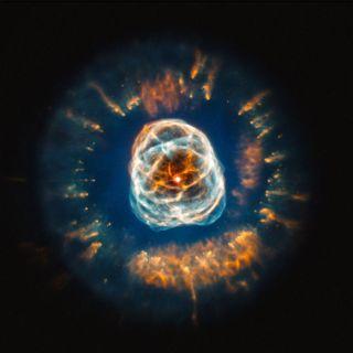 Optical Image of NGC 2392