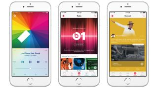 Apple Music launched in 2015.