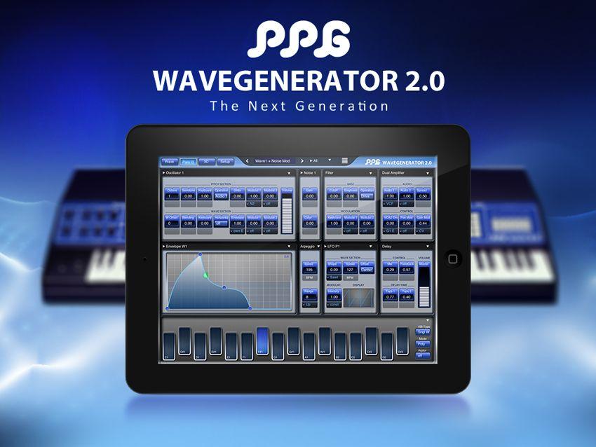 exclusive ppg wavegenerator for ipad musicradar. Black Bedroom Furniture Sets. Home Design Ideas