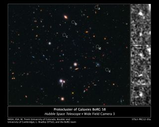 Primordial Galaxy Cluster