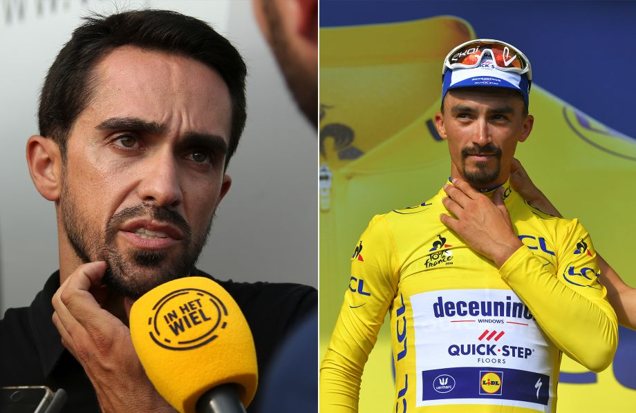 Alberto Contador says he can't see Julian Alaphilippe winning the Tour de France
